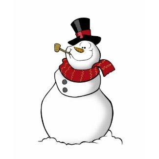 Snowman Shirt Red shirt