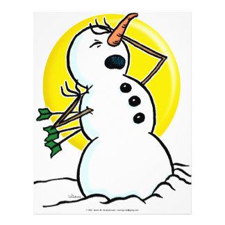 Snowman Shot! Flyer