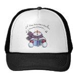 Snowman Singing Trucker Hat