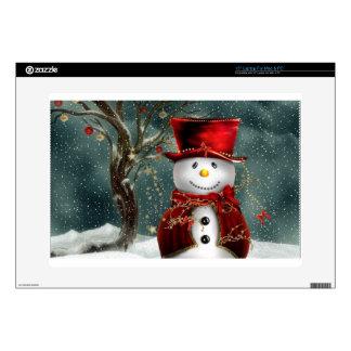 Snowman Laptop Decal