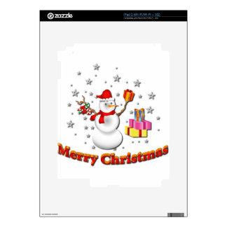 Snowman Skin For iPad 2