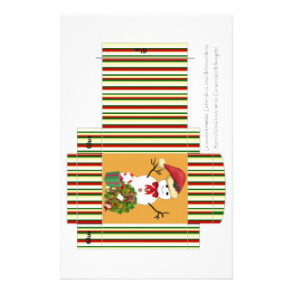 Snowman small cereal box png flyer