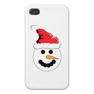 Snowman Smile iPhone 4/4S Case
