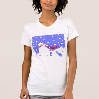Snowman Smiles T-Shirt