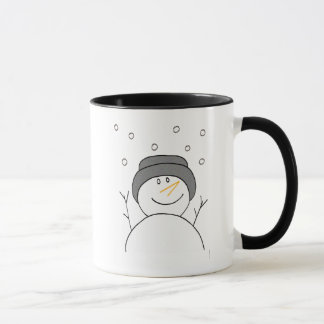 Snowman Smiling Mug