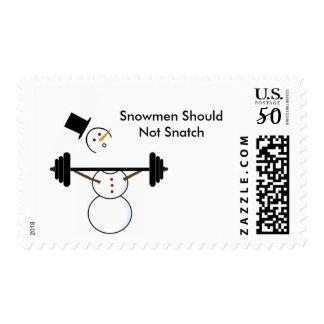 Snowman Snatch Stamp