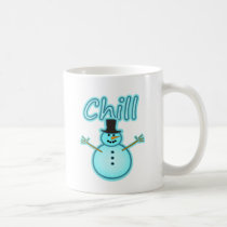Snowman Snow Man Chill Winter Design Coffee Mug