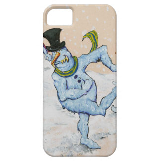 Snowman Snowball Fight iPhone SE/5/5s Case