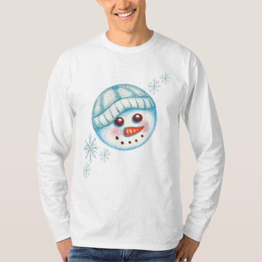 Snowman Snowflake T-Shirt
