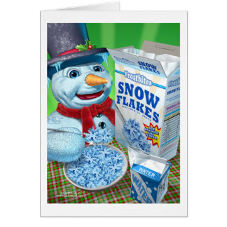 snowman_snowflakes greeting cards
