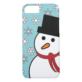 Snowman & Snowflakes Winter iPhone 7 Case