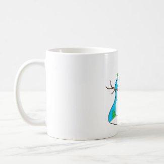 Snowman Soup Poem #2 mug