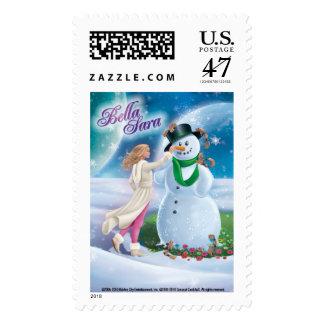 Snowman Stamp