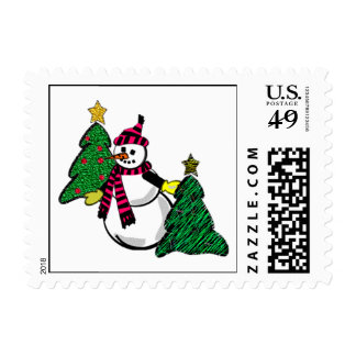Snowman Stamps
