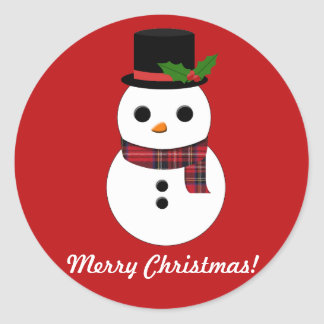 Snowman Sticker