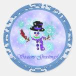 Snowman Stickers