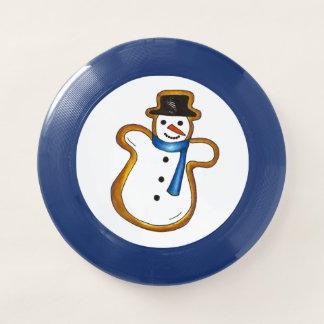 Snowman Sugar Cookie Hanukkah Christmas Holiday Wham-O Frisbee