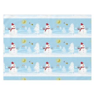 Snowman Table Cloth