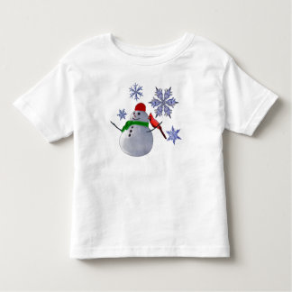 Snowman Toddler T-shirt