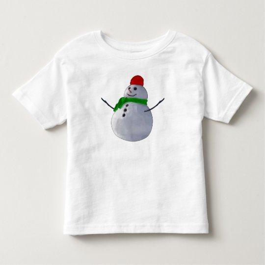 Snowman Toddler T-shirt