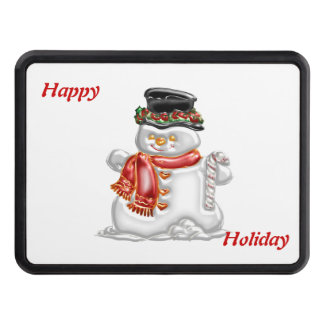 Snowman Tow Hitch Covers