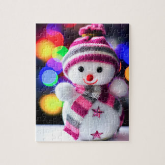 Snowman Toy Cute Funny Christmas Decoration Puzzle