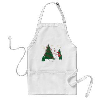 Snowman & Tree Apron