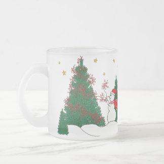 Snowman & Tree Coffee Mug