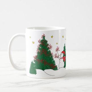Snowman & Tree Coffee Mugs