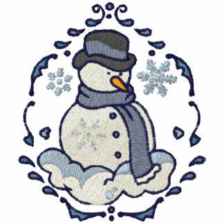 Snowman Vignette