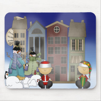 Snowman Welcome Mousepad
