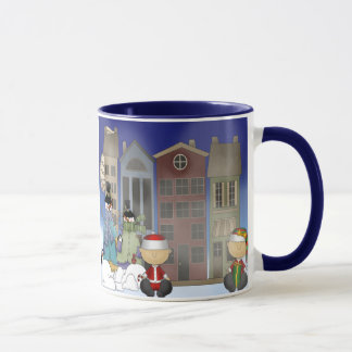 Snowman Welcome Mug
