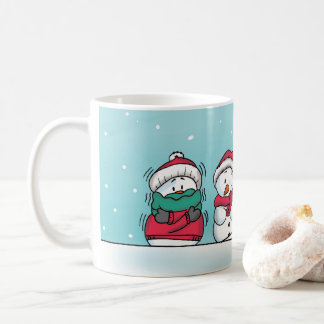 Snowman Winter Mug - Gerda Steiner Designs