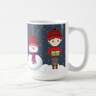Snowman Winter Wonderland Coffee Mug