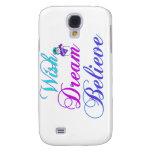 Snowman Wish Dream Believe Specks iPhone Case Galaxy S4 Case