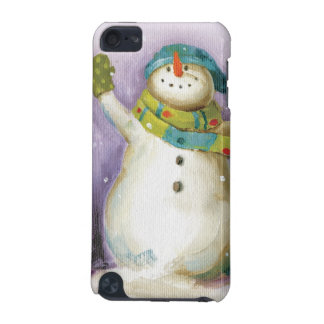 Snowman with Winter Mittens iPod Touch (5th Generation) Cover