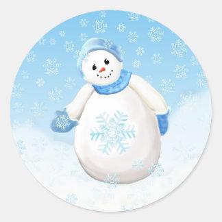 Snowman Wonderland Sticker