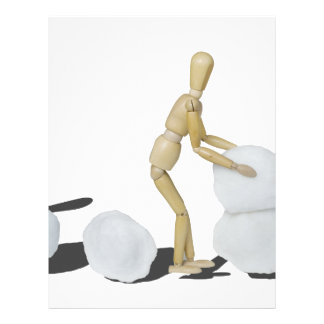 Snowmanbuilding Membretes Personalizados