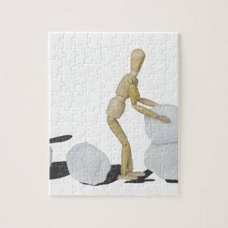 Snowmanbuilding Puzzle