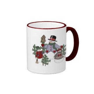 SnowmanFamily Ringer Mug
