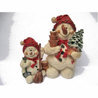 snowmans cutout
