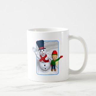 Snowmans Greeting Mug