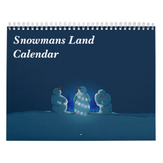 Snowmans Land Calendar