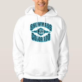Snowmass 1946 Black Ice Hoodie