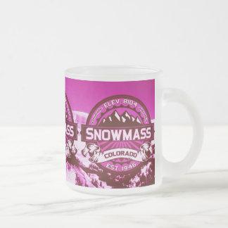 Snowmass Color Logo Raspberry Mug