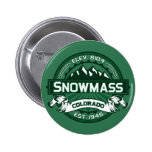 """Snowmass """"Colorado Green"""" Logo Pin"""