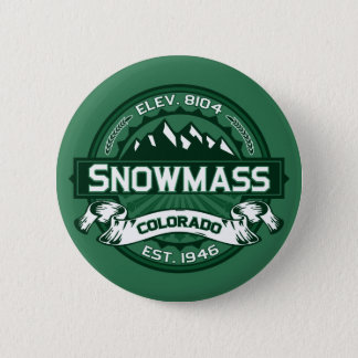 "Snowmass ""Colorado Green"" Logo Pinback Button"