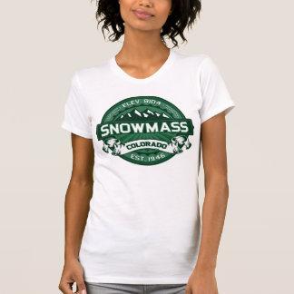 """Snowmass """"Colorado Green"""" Logo T-Shirt"""