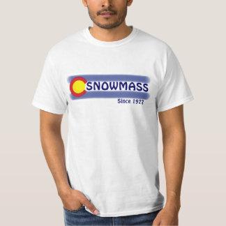 Snowmass Colorado local flag value tee