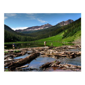 Snowmass Creek Aspen Colorado Postcard